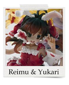 Reimu and Yukari