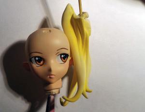 Блондинка...