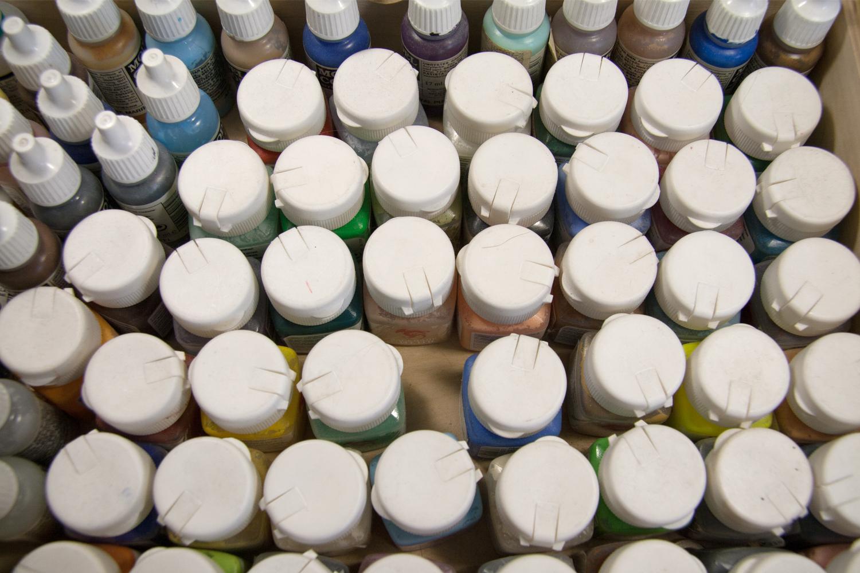 Rackham paints